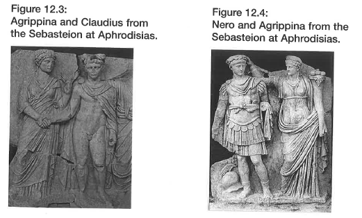 HSC Ancient History Agrippina and Claudius statue