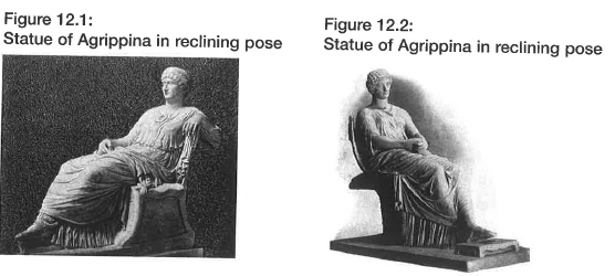 HSC Ancient History Agrippina the Younger reclining pose